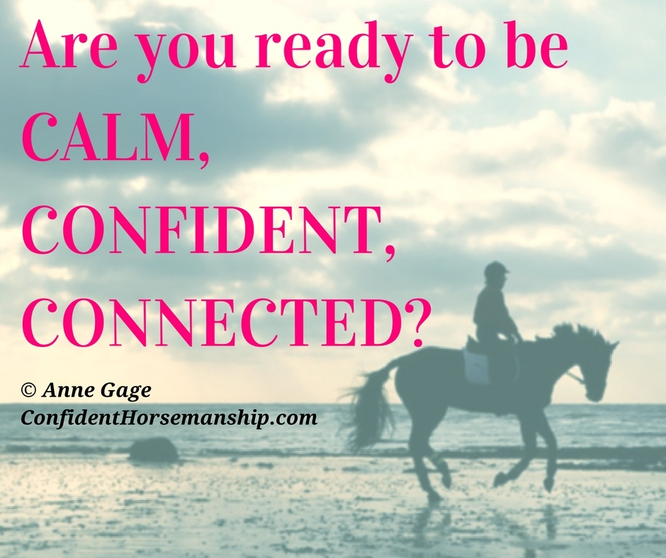 Are you ready to be Calm, Confident, Connected?